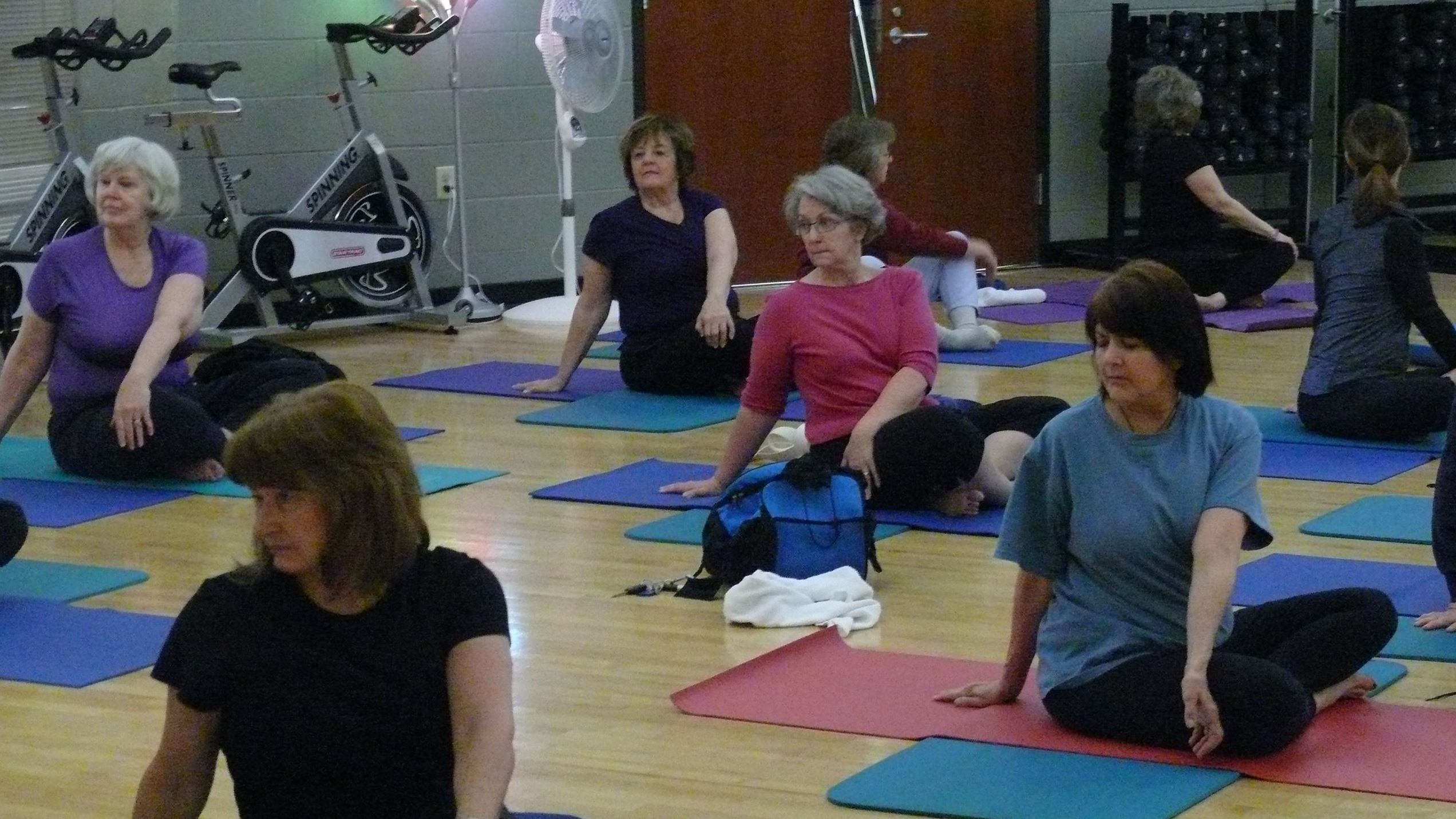 Group Exercise Class - Yoga