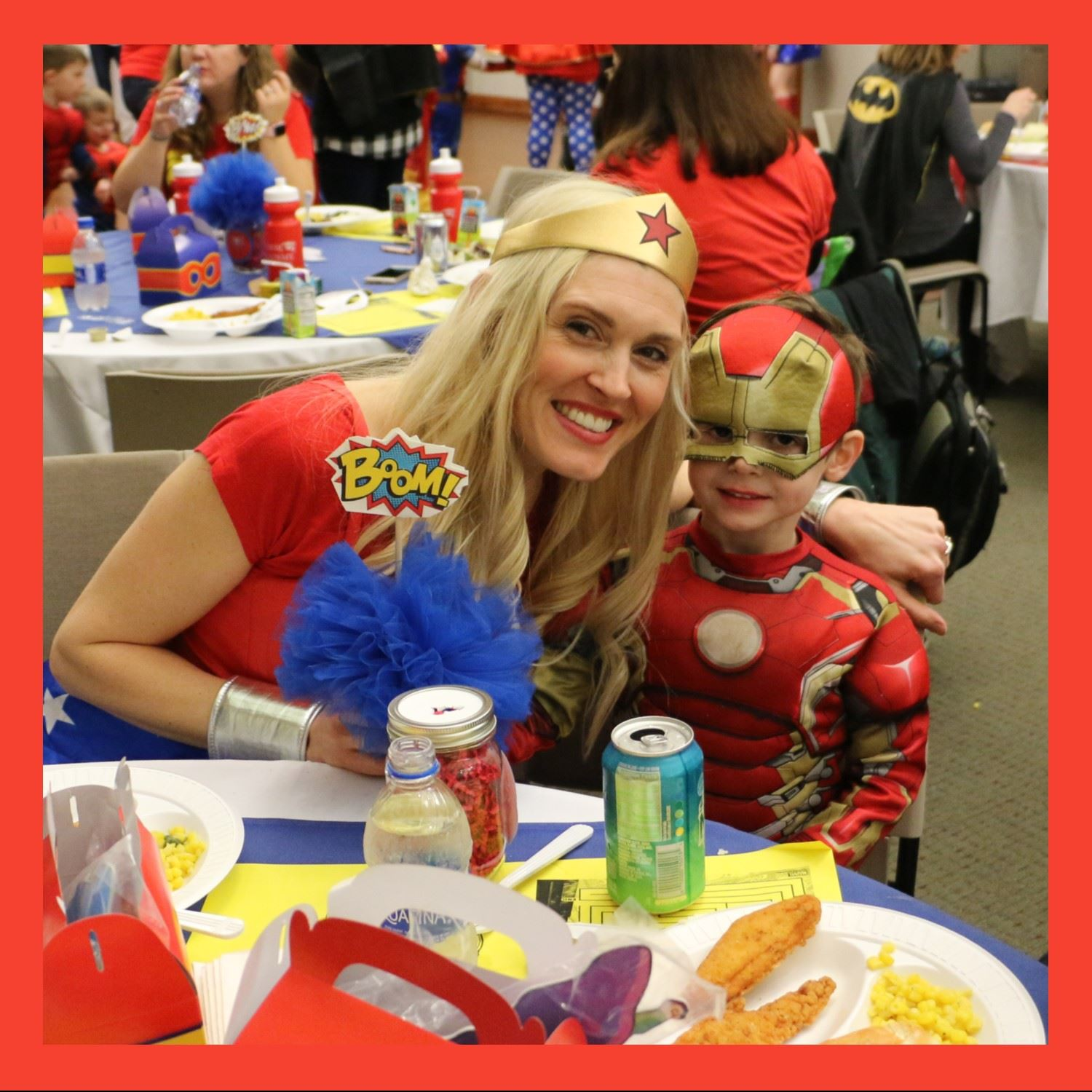 Mother Son Super Hero Event