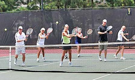 Adult Tennis Lessons - Cardio Tennis