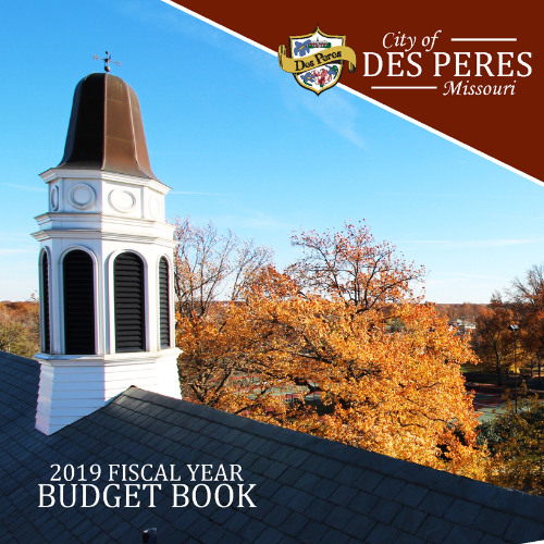 2019 FISCAL YEAR BUDGET BOOK